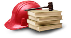 Gavel and Hard Hat