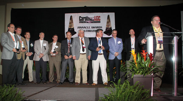 CAGC Pinnacle Award Winners 2012