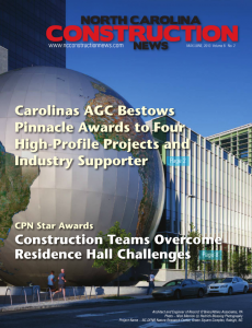north carolina may june 2013 cover
