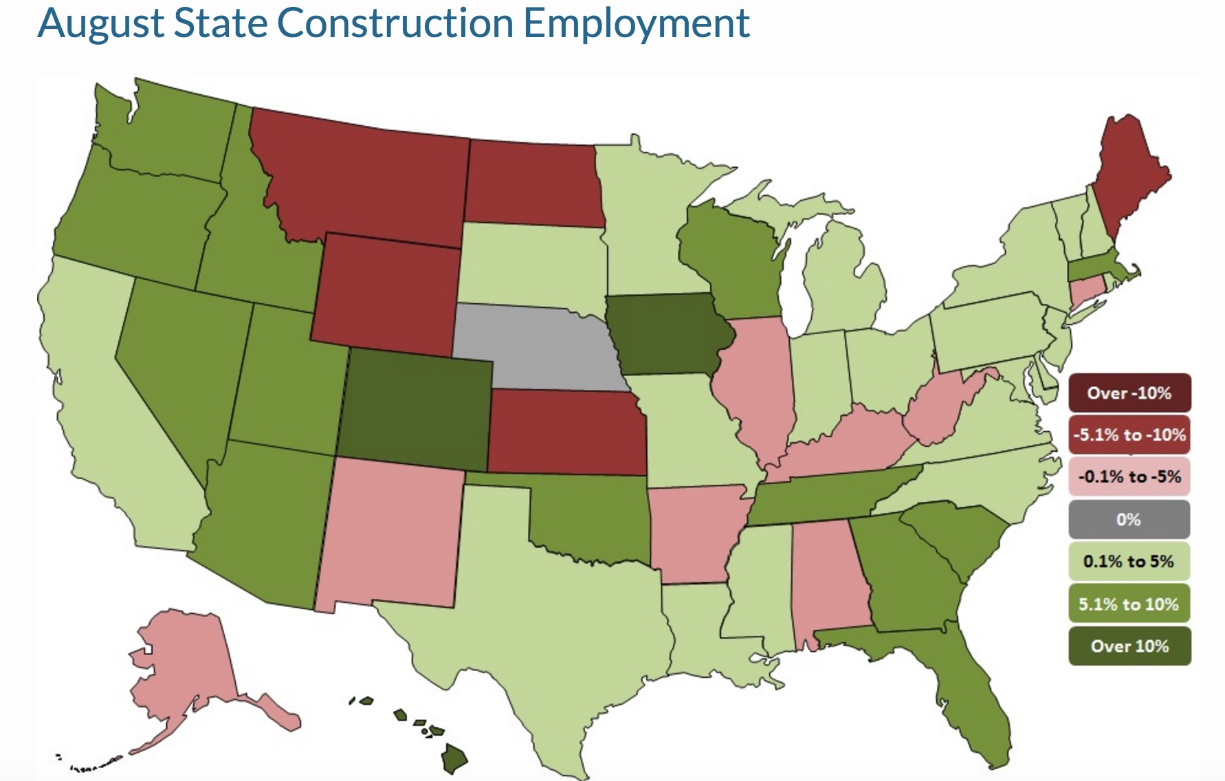 state employment map