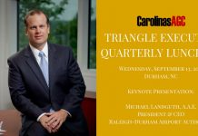 sept triangle executive lunch