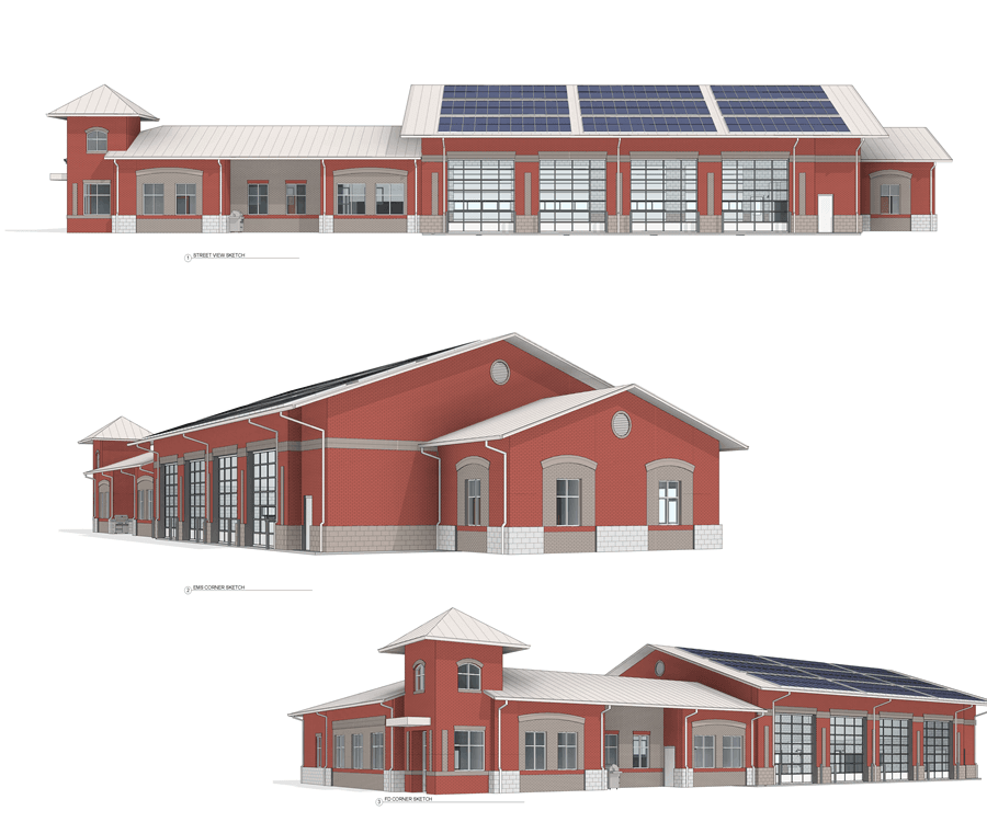 renderings durham fire station