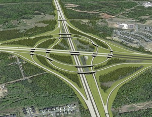 ncdot interchange