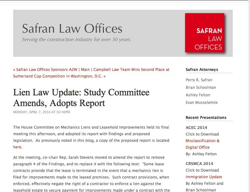 Safran law