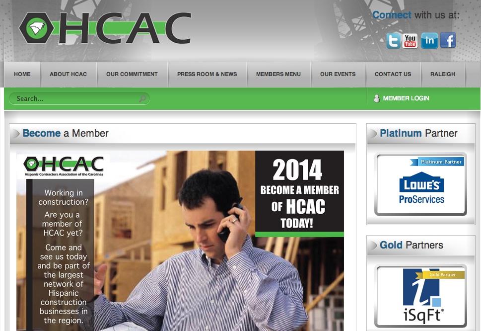 HCAC page