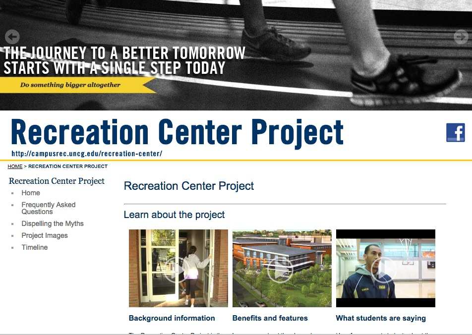UNC recreation center