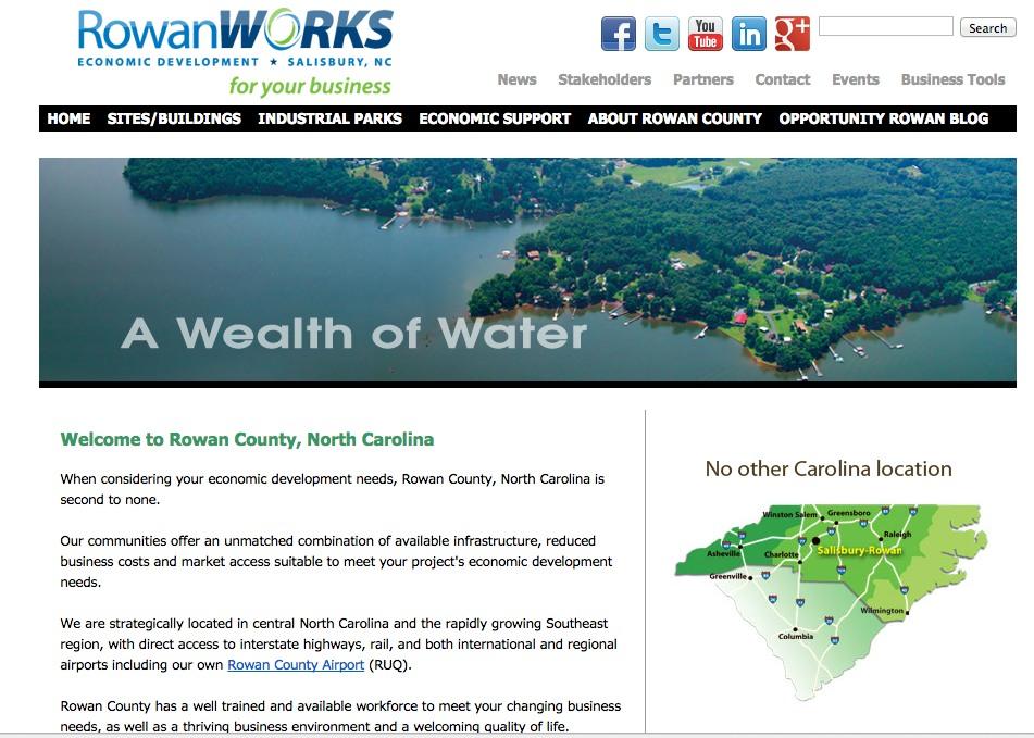 Rowan Works page