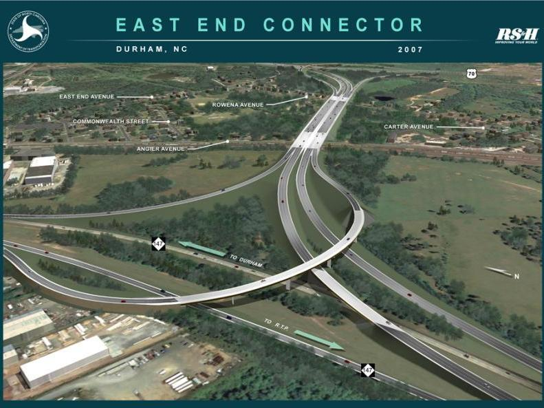 Durham City Begins Construction On East End Connector North