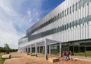North Carolina State University, James B Hunt Jr Library   Photos @Jeff Goldberg/Esto.