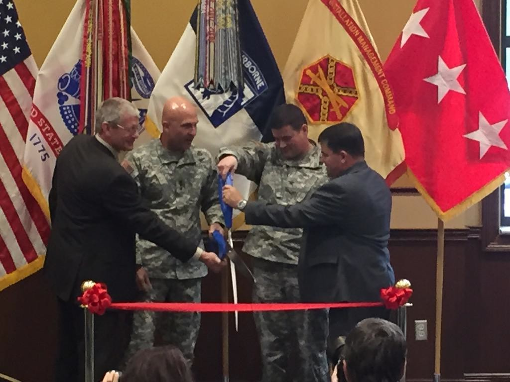 ft bragg ribbon cutting