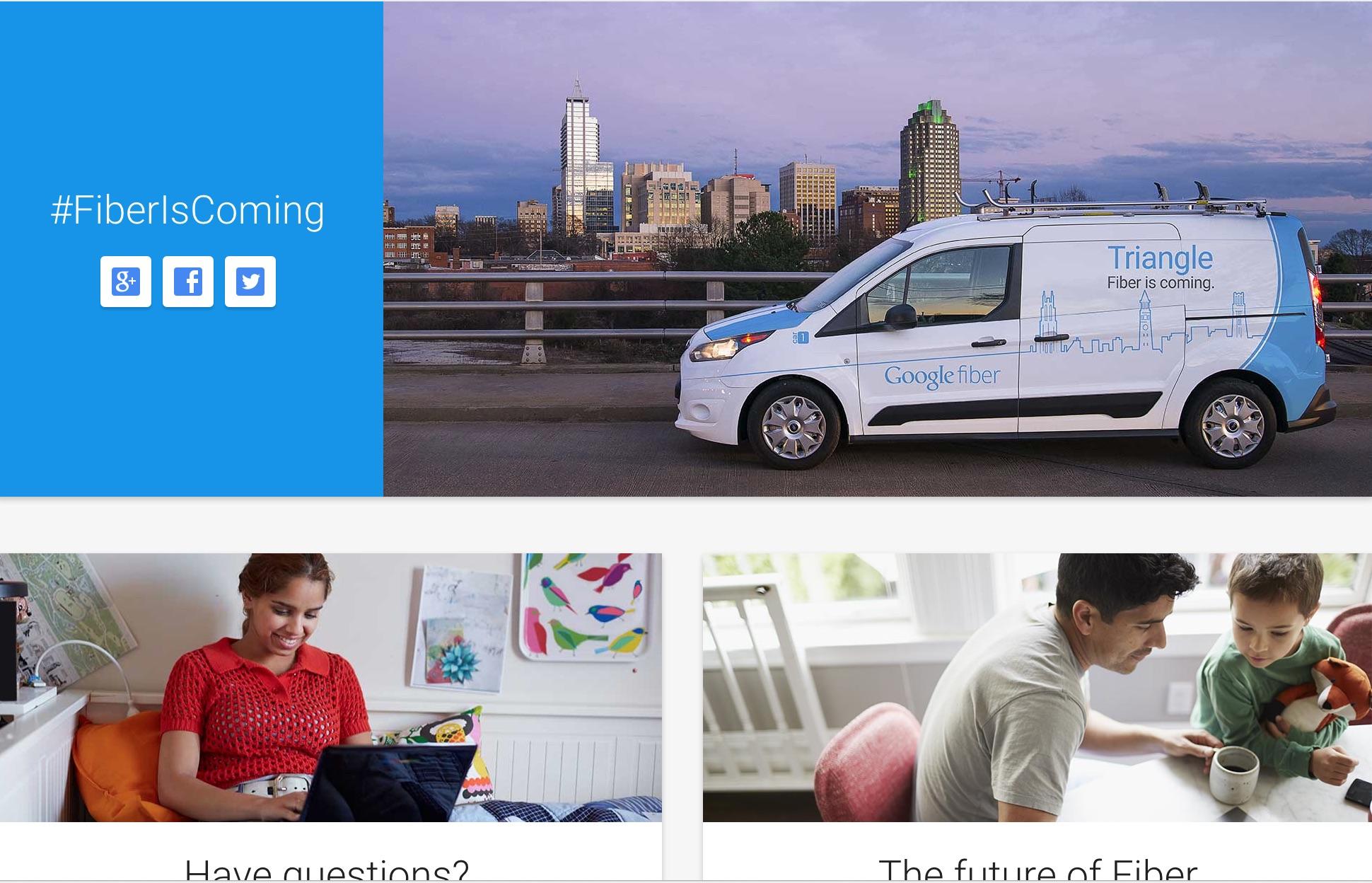 Google Fiber Raleigh