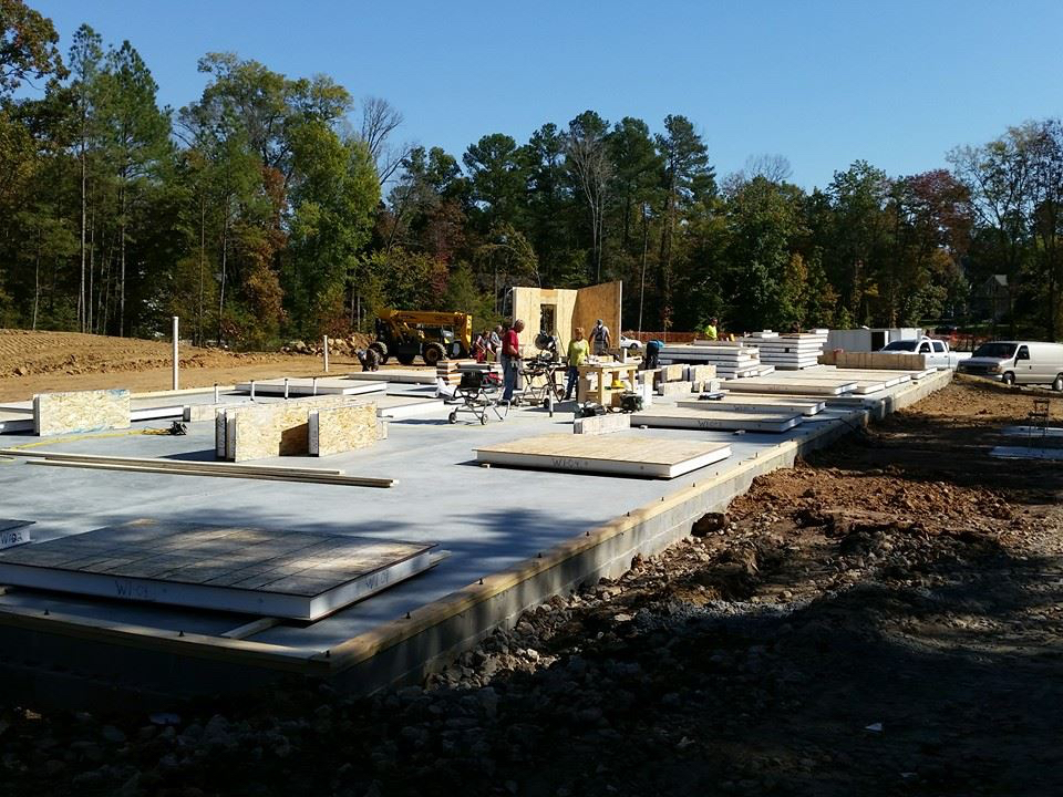 Construction begins on the 12-day New Life Building Blitz in Chapel Hill
