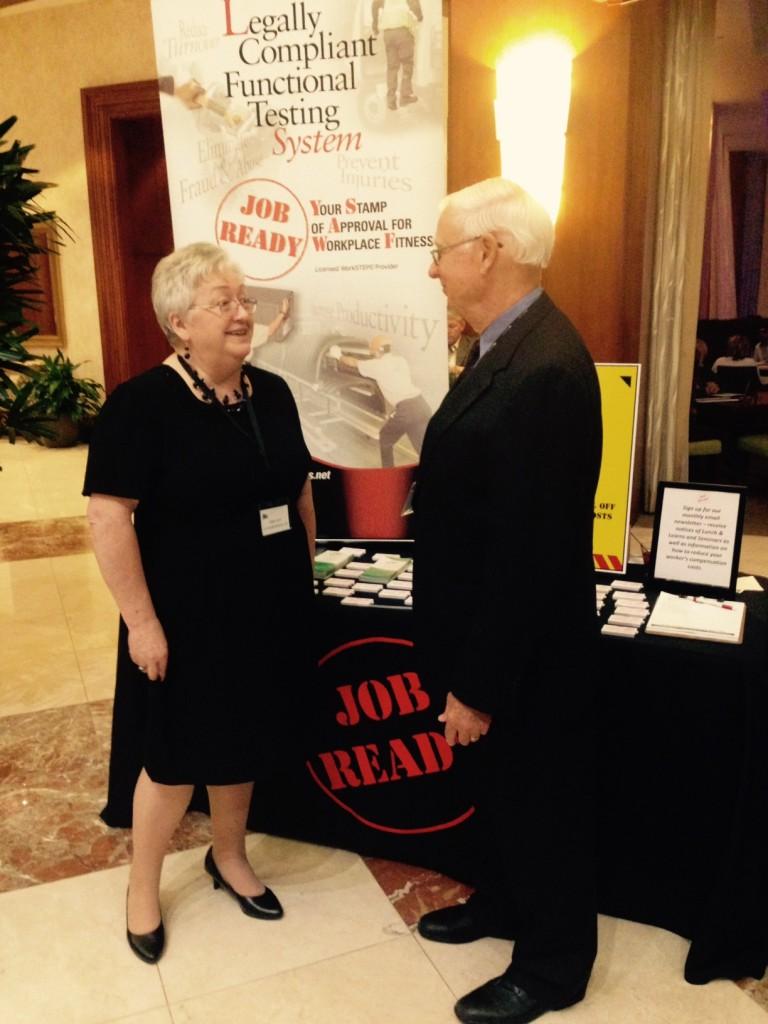 Debra Lord, Job Ready Services woth Bob Kruhm, NCCN
