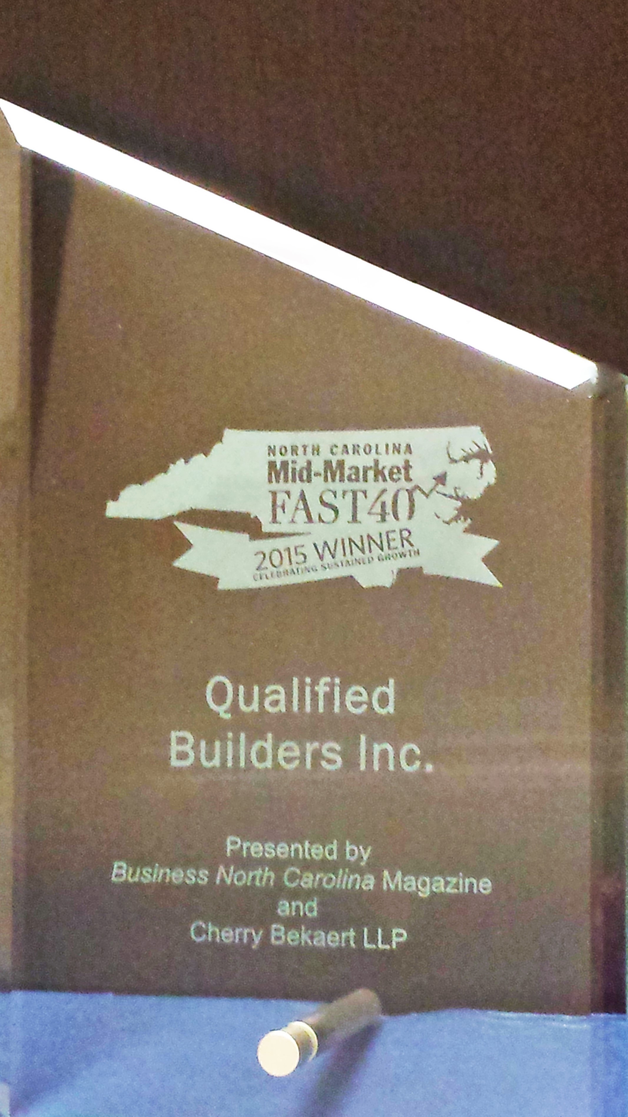 qualified builders award