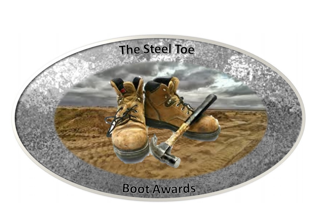 steel toe boots awards logo