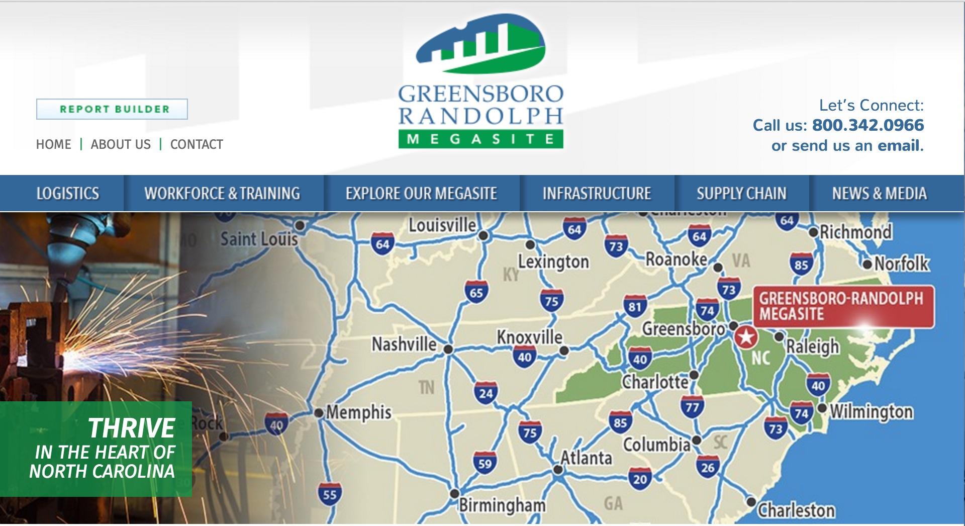 Greensboro randolph megasite