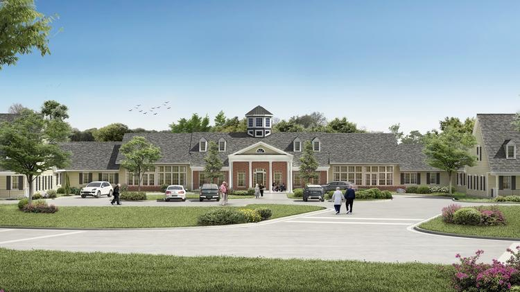 spring arbor cary rendering