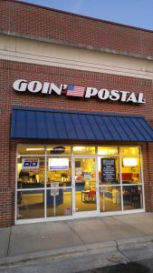 "TGC headquarters -- a ""Goin Postal"" location in Clemmons, NC"