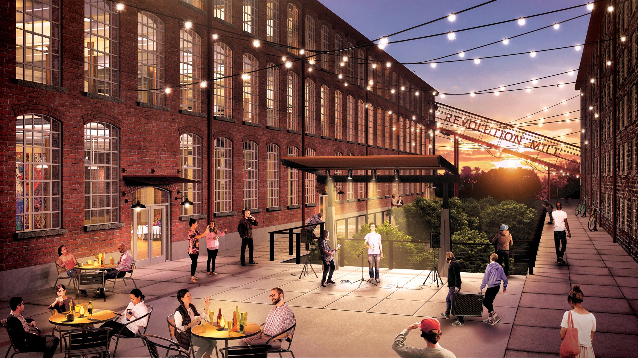 revolution mill rendering