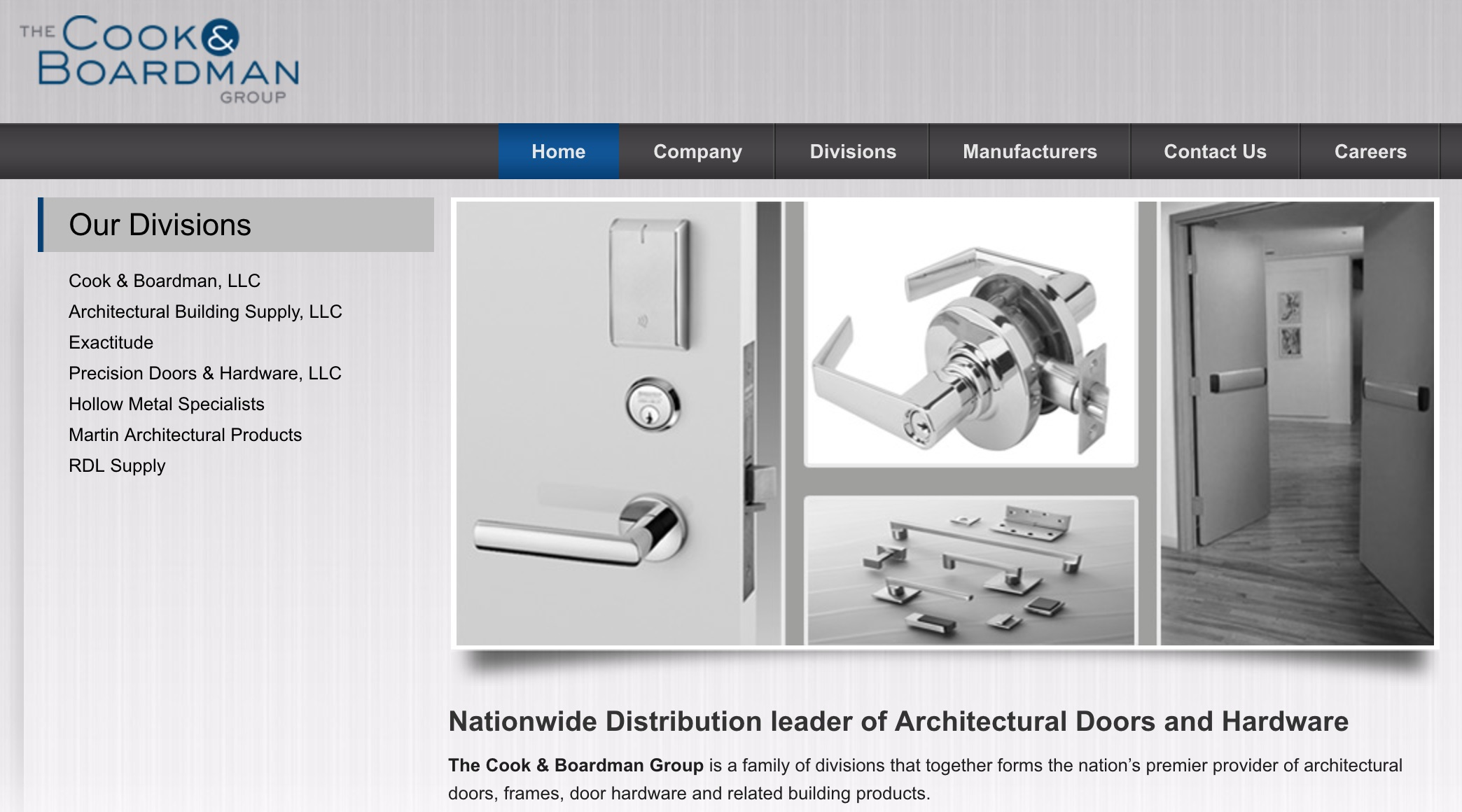 Cook Amp Boardman Group Acquires Delta Door Expands