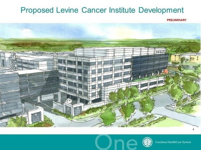 levine cancer center rendering