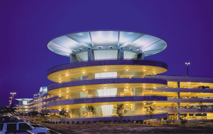 rdu parking structure