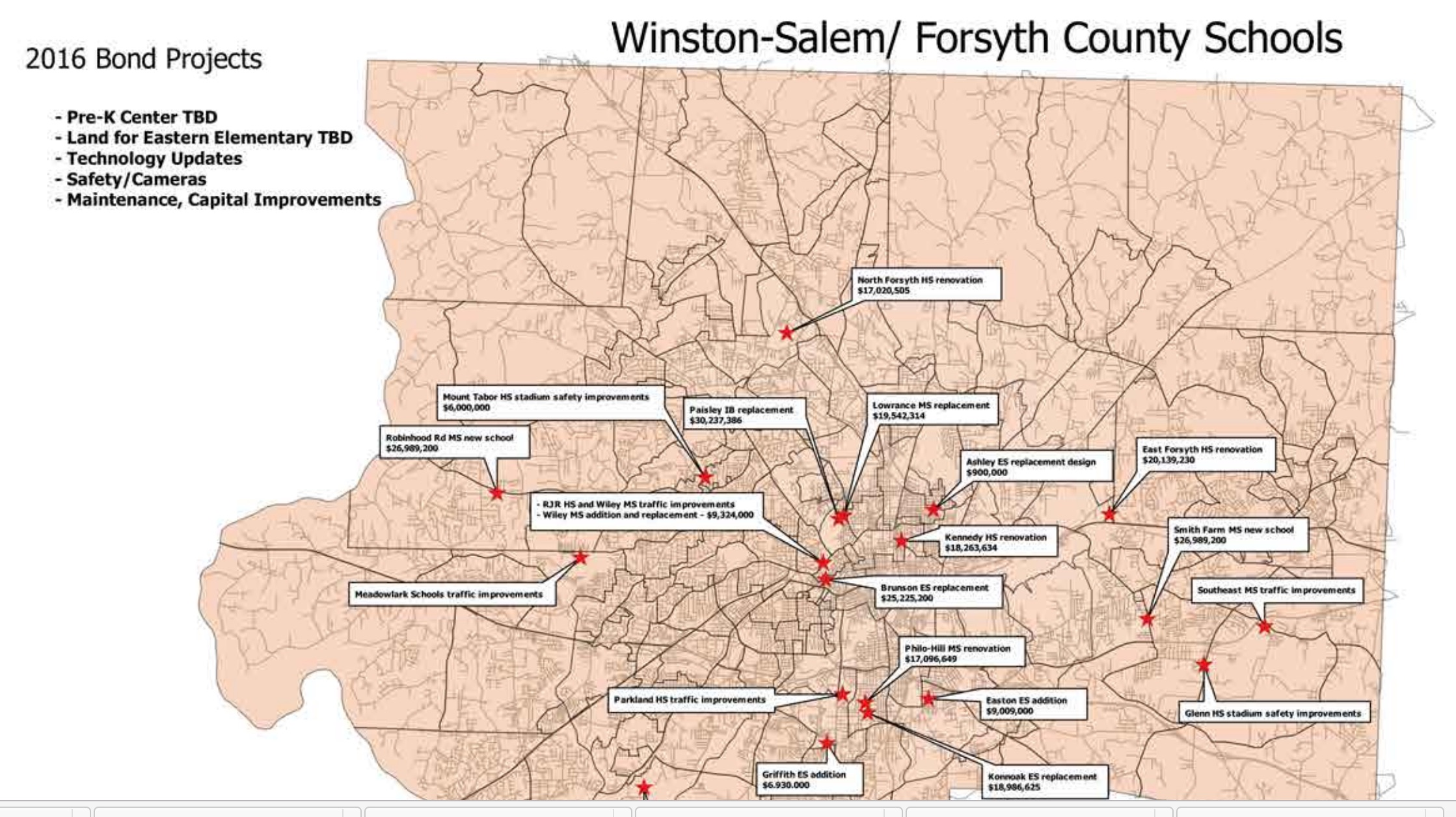 Forsyth Tech Main Campus Map.Forsyth County Approves 430 Million In Bond Payouts And Priority