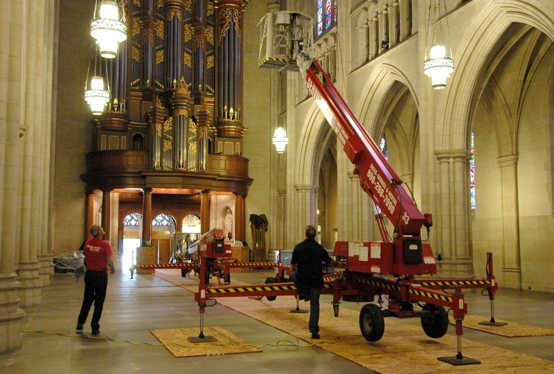 chapel ceiling inspection
