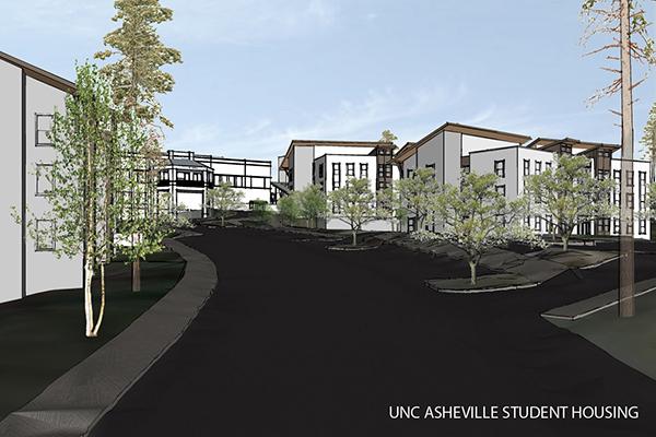 unc asheville student residences