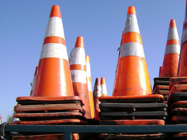 raeigh traffic cones