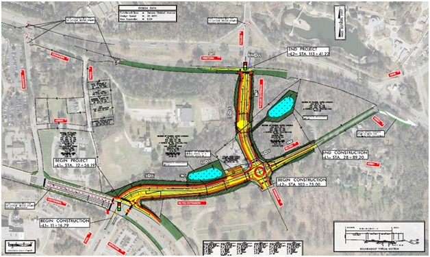 Pullen Rd Extension To Ease Traffic Around Nc State Raleigh