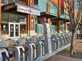 B-Cycle station in Charlotte (B-Cycle)
