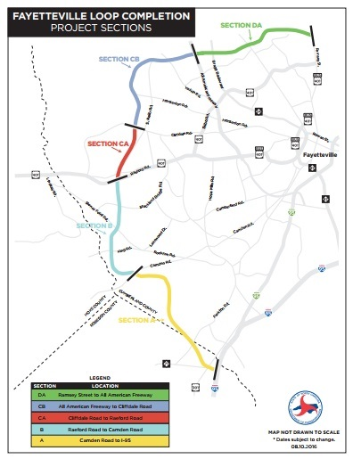 Fayetteville outer loop project