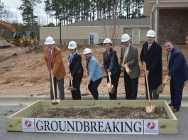 Searstone groundbreaking