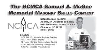 NCMCA masonry contest