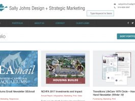 Sally Johns marketing