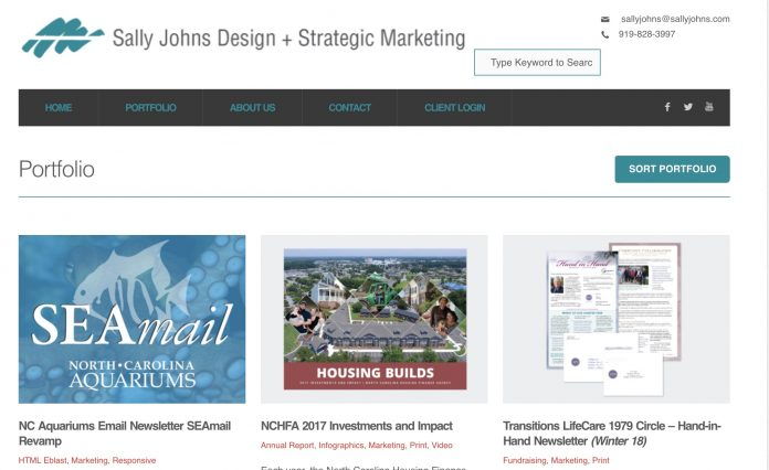 Sally Johns marketing