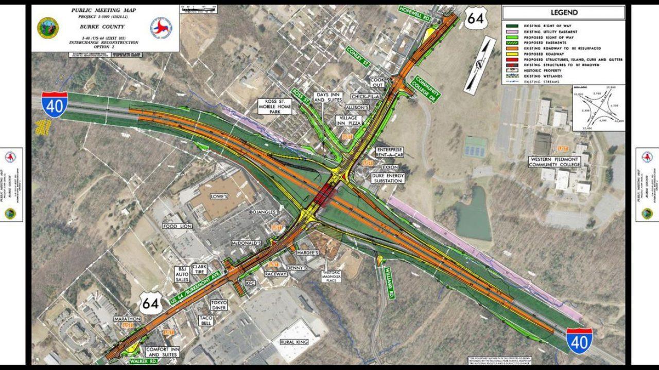 Design chosen for I-40 Exit 103 | North Carolina Construction News
