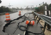road damage new bern
