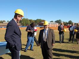 North Carolina school construction