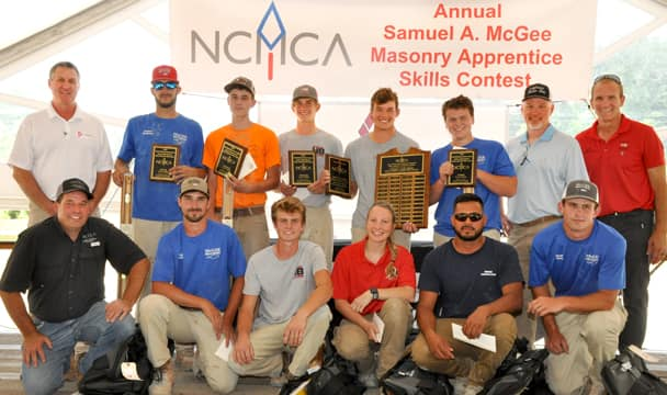 masonry contest finalists