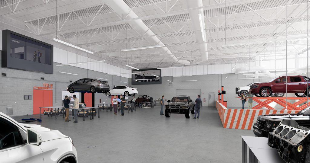 WTCC_ Automotive Bldg-shop