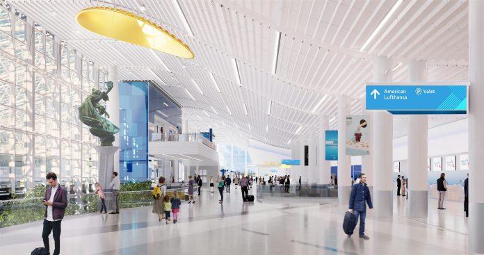 CLT lobby rendering