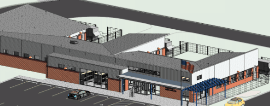 dare county animal shelter rendering