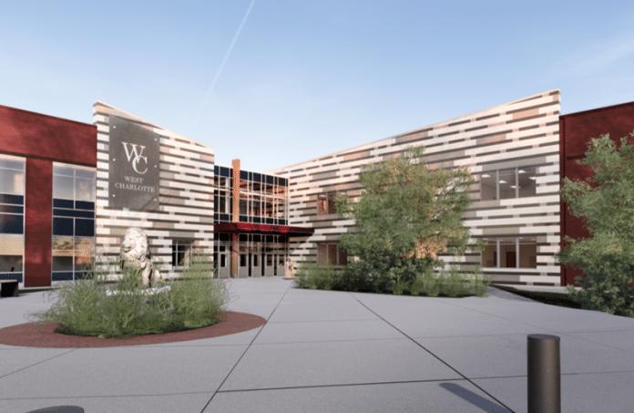West Charlotte HS rendering