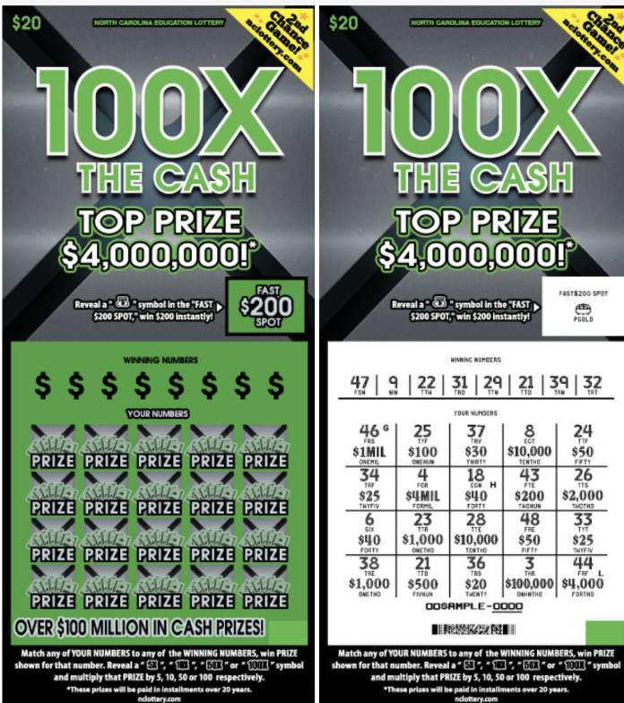 100xcash ticket