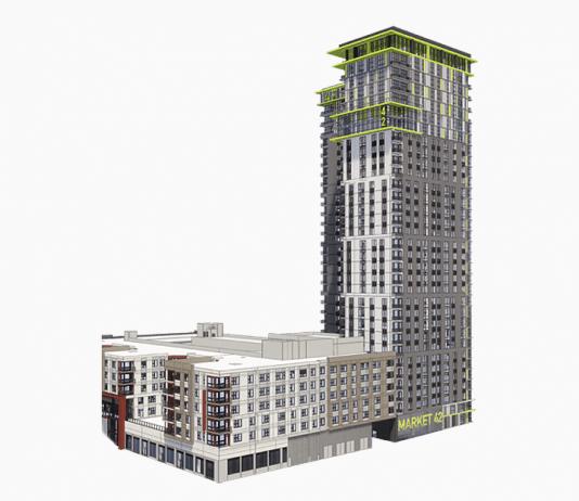 rendering of The Ellis