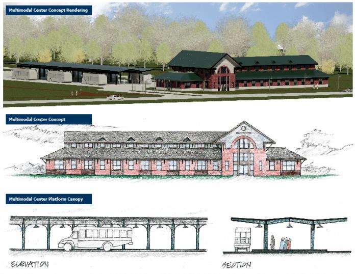 jacksonville transportation building rendering