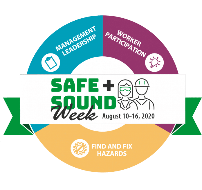 safe and sound graphic