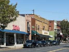 Downtown Lexington NC